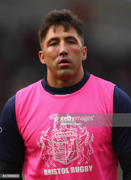 Gavin Henson of Bristol looks on ahead of the Aviva Premiership match between Leicester Tigers and Bristol Rugby at Welford Road on February 18 2017...