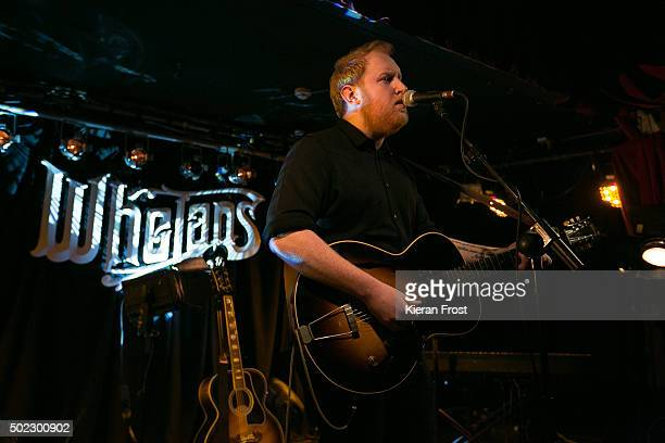Gavin James performs at Whelan's on December 22 2015 in Dublin Ireland