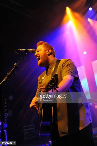 Gavin James performs onstage at the O2 Shepherd's Bush Empire on June 9 2018 in London England