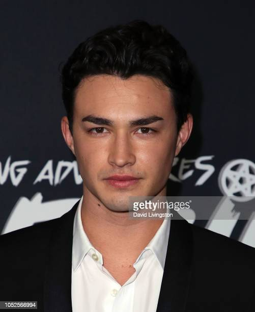 Gavin Leatherwood attends the premiere of Netflix's Chilling Adventures of Sabrina at Hollywood Athletic Club on October 19 2018 in Hollywood...