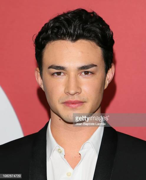 Gavin Leatherwood attends the premiere of Netflix's 'Chilling Adventures of Sabrina' at Hollywood Athletic Club on October 19 2018 in Hollywood...