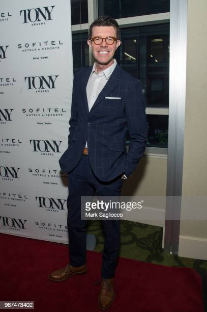 Gavin Lee attends the 2018 Tony Honors For Excellence In The Theatre and 2018 Special Award Recipients Cocktail Party at the Sofitel Hotel on June 4...