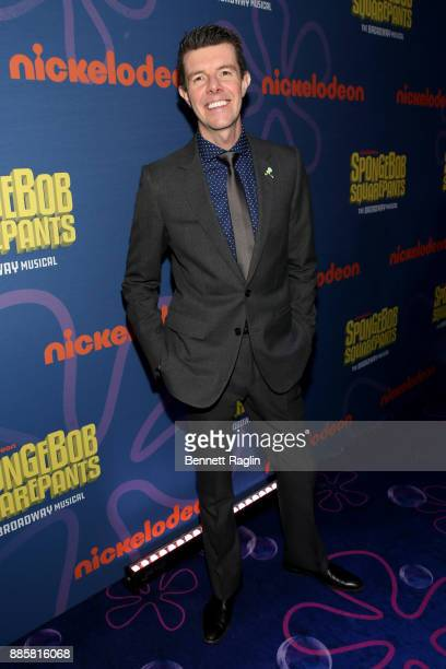 Gavin Lee attends the opening night of Nickelodeon's SpongeBob SquarePants The Broadway Musical after party at Ziegfeld Ballroom on December 4 2017...