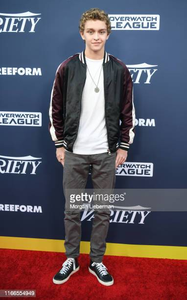 Gavin Lewis arrives at Variety's Power Of Young Hollywood party at The H Club Los Angeles on August 06, 2019 in Los Angeles, California.