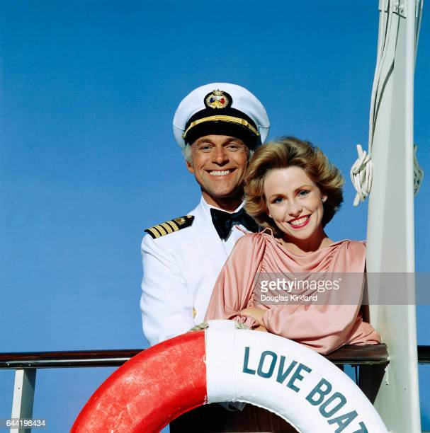Gavin MacLeod and Lauren Tewes of The Love Boat