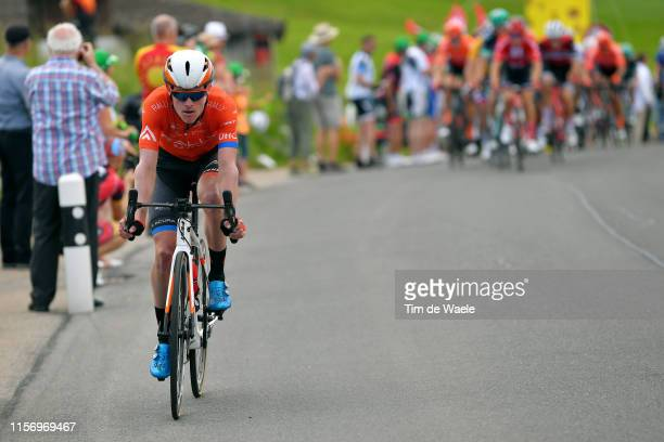 Gavin Mannion of The United States and Team Rally UHC Cycling / during the 83rd Tour of Switzerland Stage 5 a 177km stage from Münchenstein to...
