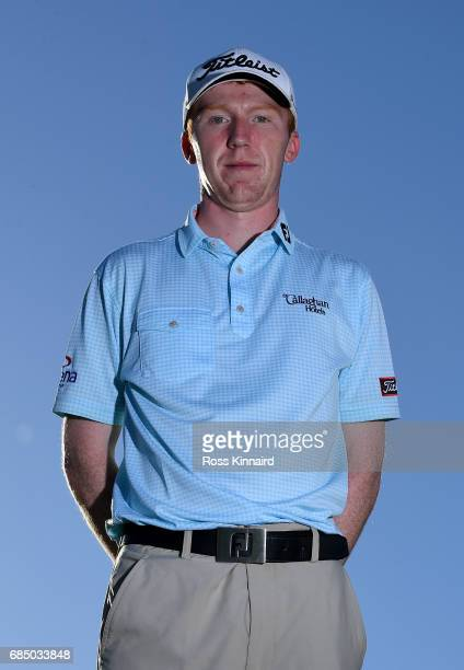 Gavin Moynihan of Ireland poses for a portrait during the first round of Andalucia Costa del Sol Match Play at La Cala Resort on May 18 2017 in La...