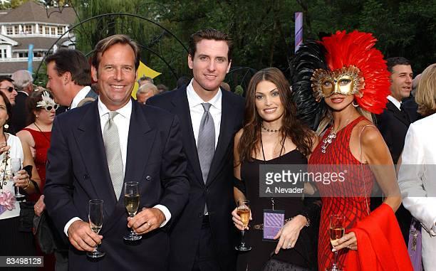 Gavin Newsom and wife Kimberly Guilfoyle Newsom John Conover and Daru Kawalkowski