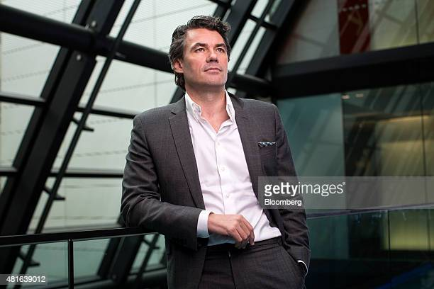 Gavin Patterson chief executive of BT Group Plc poses for a photograph in London UK on Thursday July 2015 Britain's telecommunications watchdog is...