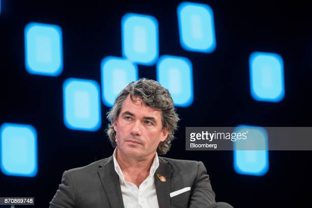 Gavin Patterson chief executive officer of BT Group Plc pauses at the Confederation of British Industry Annual Conference in London UK on Monday Nov...