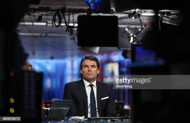 Gavin Patterson chief executive officer of BT Group Plc pauses during a Bloomberg Television interview in London UK on Thursday July 28 2016 BT Group...