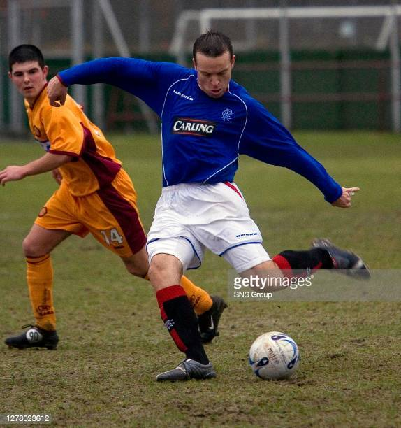 Gavin Rae has been unlucky with injuries since joining Rangers, he is however on the road to recovery as he makes a reserve team appearance