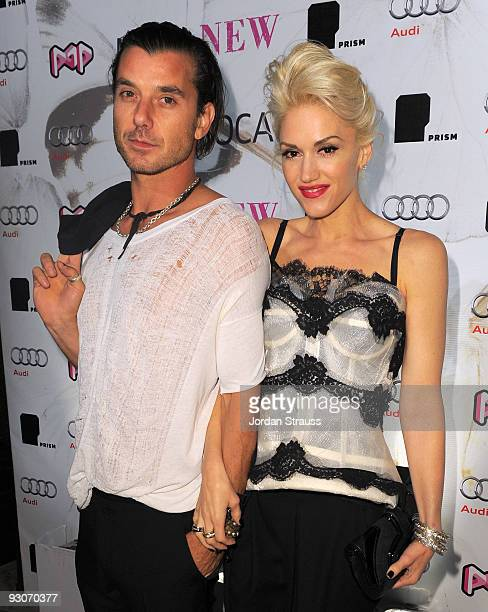 Gavin Rossdale and Gwen Stefani attend MOCA NEW 30th Anniversary Gala After Party on November 14 2009 in Los Angeles California