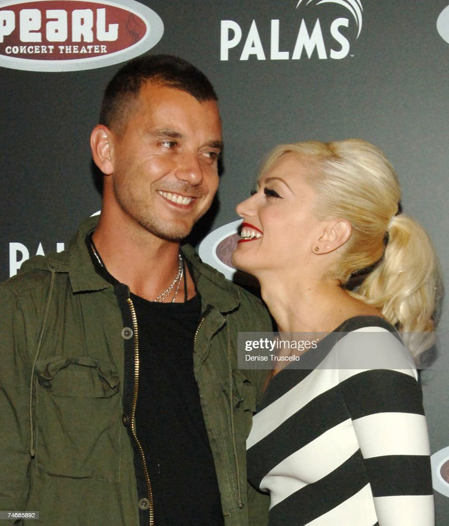 Gavin Rossdale and Gwen Stefani during Grand Opening of The Pearl at The Palms with Gwen Stefani in Concert - Red Carpet Arrivals at the The Pearl at The Palms in Las Vegas, Nevada.