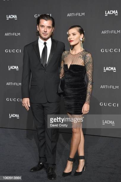 Gavin Rossdale and Sophia Thomalla attend LACMA Art Film Gala 2018 at Los Angeles County Museum of Art on November 3 2018 in Los Angeles CA
