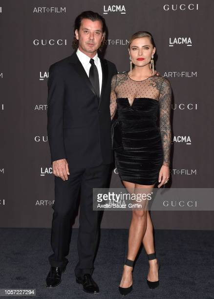 Gavin Rossdale and Sophia Thomalla attend the 2018 LACMA Art Film Gala at LACMA on November 03 2018 in Los Angeles California