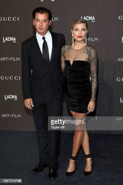 Gavin Rossdale and Sophia Thomalla attend the 2018 LACMA ArtFilm Gala at LACMA on November 3 2018 in Los Angeles California