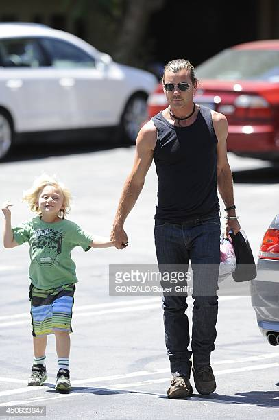 Gavin Rossdale and Zuma Rossdale are seen on June 20 2013 in Los Angeles California