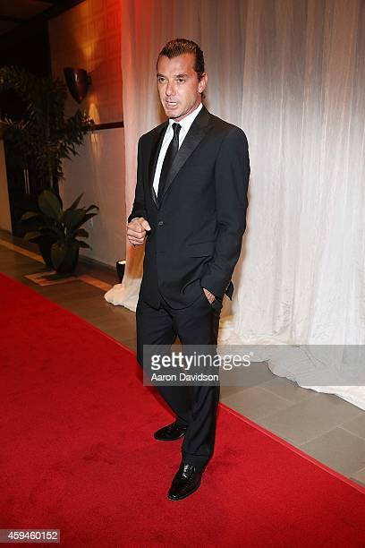 Gavin Rossdale arrives at 25th Annual Chris Evert/Raymond James ProCelebrity Tennis Classic Gala Arrivals at Boca Raton Resort on November 22 2014 in...