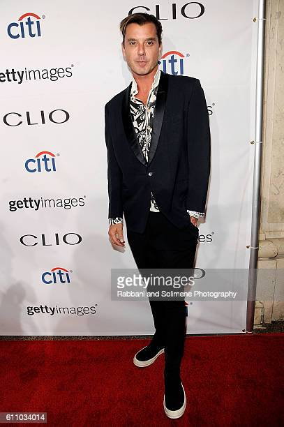 Gavin Rossdale attends 2016 Clio Awards at American Museum of Natural History on September 28 2016 in New York City
