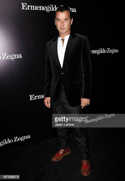 Gavin Rossdale attends the Ermenegildo Zegna Boutique grand opening on November 7 2013 in Beverly Hills California