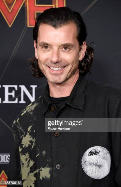 Gavin Rossdale attends the Marvel Studios Captain Marvel premiere on March 04 2019 in Hollywood California
