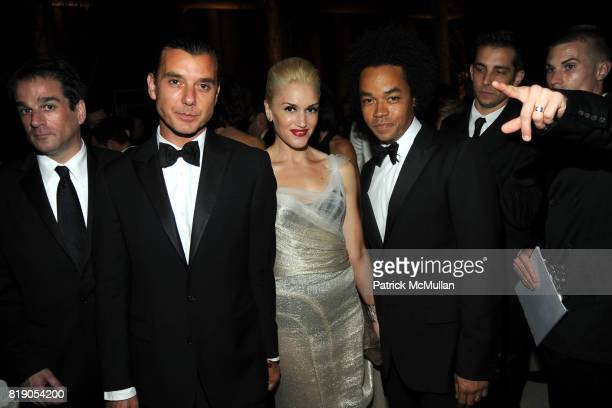 Gavin Rossdale Gwen Stefani and Patrick Robinson attend THE METROPOLITAN MUSEUM OF ART'S Spring 2010 COSTUME INSTITUTE Benefit Gala at THE...