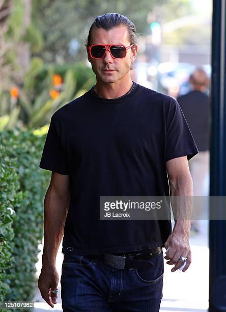 Gavin Rossdale is seen in Beverly Hills on September 15 2011 in Los Angeles California
