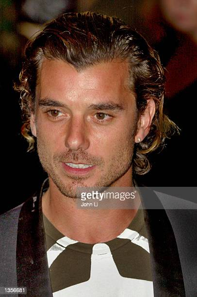 Gavin Rossdale lead singer from rock band Bush attends the Kerrang Awards August 27 2002 at the Park Lane Hilton Hotel in London United Kingdom The...