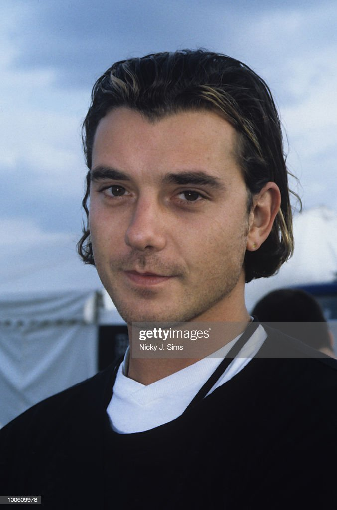 Gavin Rossdale of Bush backstage at the Reading Festival in August 1998.