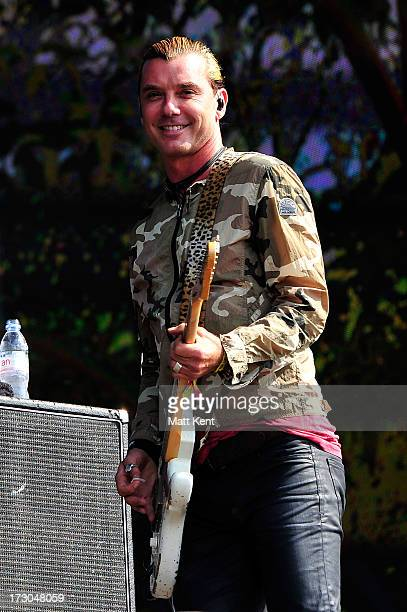Gavin Rossdale of Bush performs at day 1 of British Summer Time Hyde Park presented by Barclaycard at Hyde Park on July 5 2013 in London England