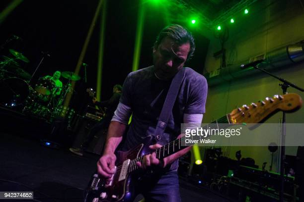 Gavin Rossdale of Bush performs at NeueHouse Hollywood on April 3 2018 in Los Angeles California
