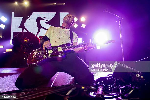 Gavin Rossdale of Bush performs at The Masonic Auditorium on January 30, 2015 in San Francisco, California.