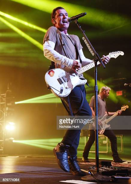 Gavin Rossdale of the band Bush in Concert at Ford Amphitheater on August 10 2017 in the Brooklyn borough of New York City New York