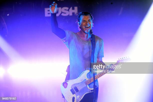 Gavin Rossdale of the band Bush performs at The Louisville Palace on April 18 2018 in Louisville Kentucky