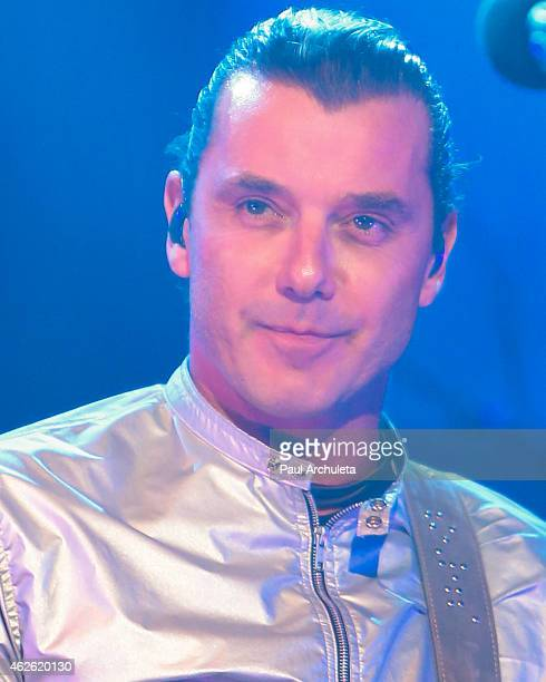 Gavin Rossdale of the Bush performs live in concert at The Wiltern on January 31 2015 in Los Angeles California