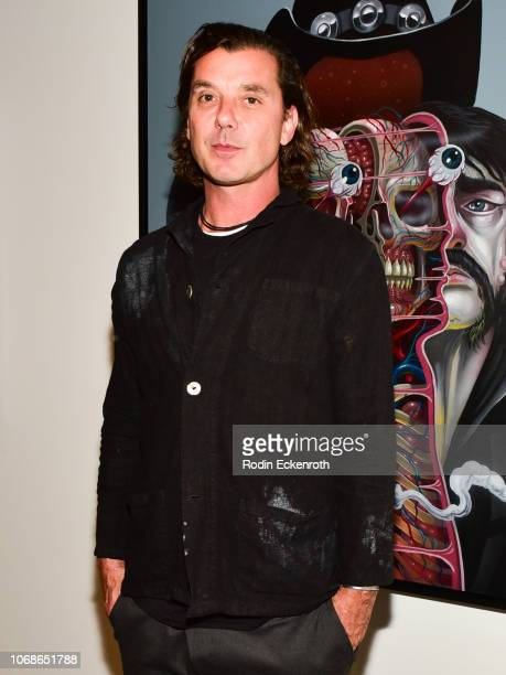 Gavin Rossdale poses for portrait at the VIP Exhibit Preview for Street Dreams on November 16 2018 in West Hollywood California