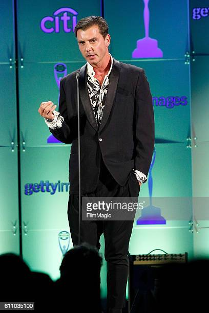 Gavin Rossdale speaks onstage at the 2016 Clio Awards at the American Museum of Natural History on September 28 2016 in New York City