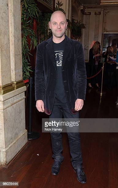 Gavin Turk attends The ICA Fundraising Gala at KOKO on March 24, 2010 in London, England.