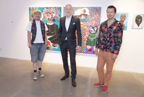 GBR: 'Isolation Mastered' Group Exhibition Launch At JD Malat Gallery