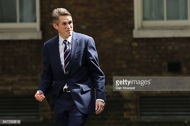Gavin Williamson arrives at Downing Street where he was appointed as Chief Whip as Prime Minister Theresa May continues to appoint her cabinet on...