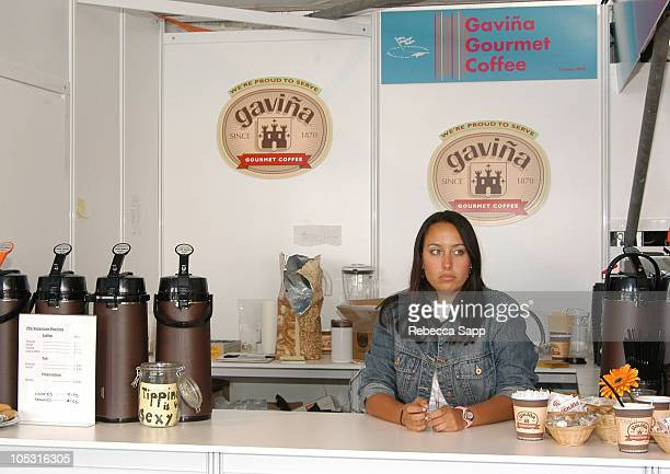 Gavina Gourmet Coffee during 2004 Cannes Film Festival American Pavilion Atmosphere Day 3 at American Pavilion in Cannes France
