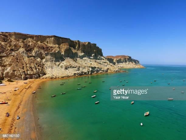 gawadar sea port, balochistan - pakistani culture stock photos and pictures