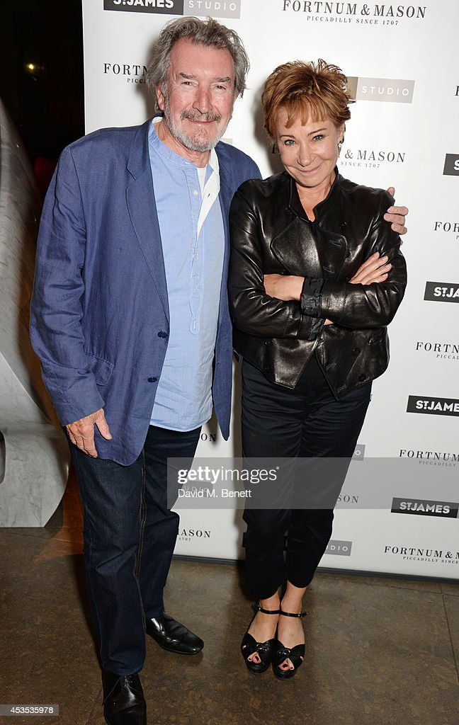 Gawn Grainger (L) and Zoe Wanamaker attend an after party celebrating the press night performance of 'Celia Imrie: Laughing Matters' at the St James Theatre on August 12, 2014 in London, England.