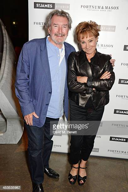 Gawn Grainger and Zoe Wanamaker attend an after party celebrating the press night performance of Celia Imrie Laughing Matters at the St James Theatre...