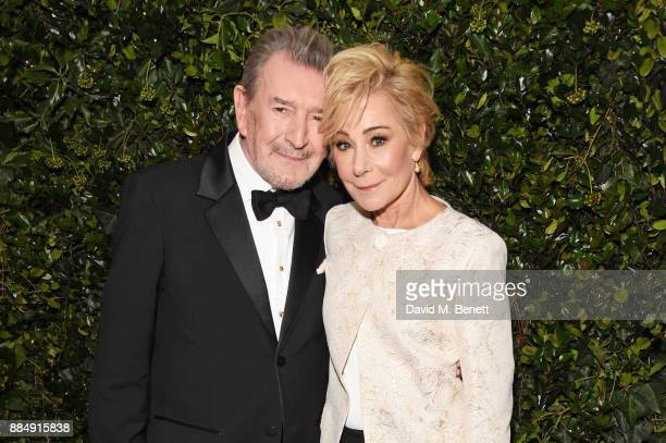 Gawn Grainger and Zoe Wanamaker attend the London Evening Standard Theatre Awards 2017 at the Theatre Royal Drury Lane on December 3 2017 in London...