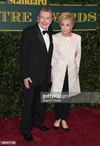 Gawn Grainger and Zoe Wanamaker attend the London Evening Standard Theatre Awards at the Theatre Royal on December 3 2017 in London England