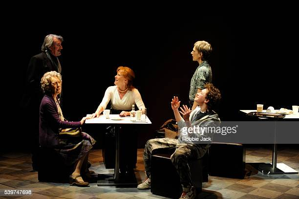 Gawn Grainger as Robbie Marcia Warren as Alice Judy Parfitt as Lyn Amelia Bullmore as Cathy and Thomas Jordan as Dylan in Tamsin Oglesby's 'Really...