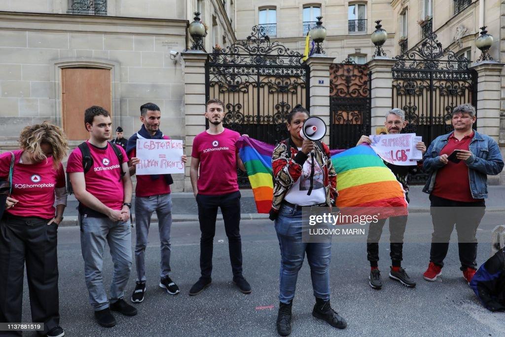 FRANCE-BRUNEI-RELIGION : Nachrichtenfoto