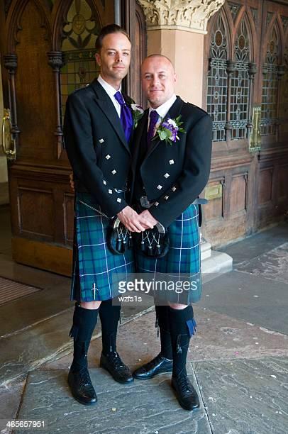 Gay couple Civil Ceremony